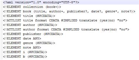 tutorial xml y dtd tłumaczenie plik 243 w xml część 1 wprowadzenie wąsaty