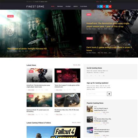 Website Template Vorlage Spiele Vorlagen
