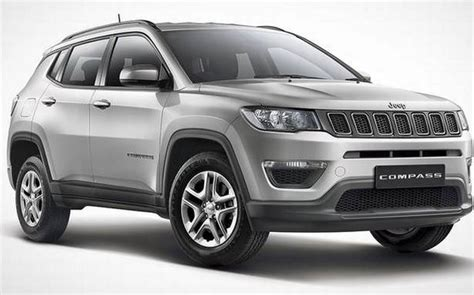 fca india launches  variant jeep compass sport