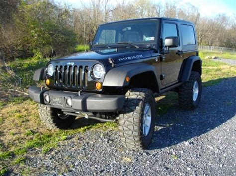 Jeep Wrangler Rubicon 2008 For Sale Sell Used 2008 Jeep Wrangler Rubicon In Chantilly
