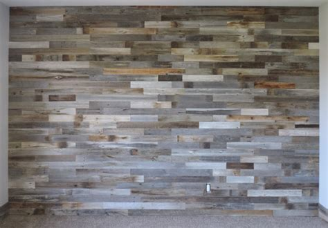 Red Peel And Stick Wallpaper by Reclaimed Wood Wall Paneling Diy Asst 3 Inch Boards By