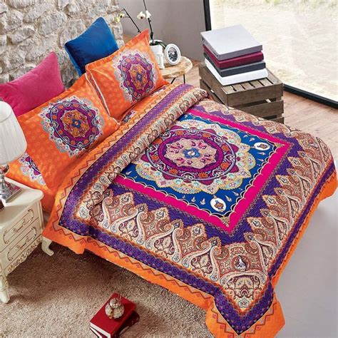 bohemian bedding queen boho chic bedding sets bohemian style bedding are comfy