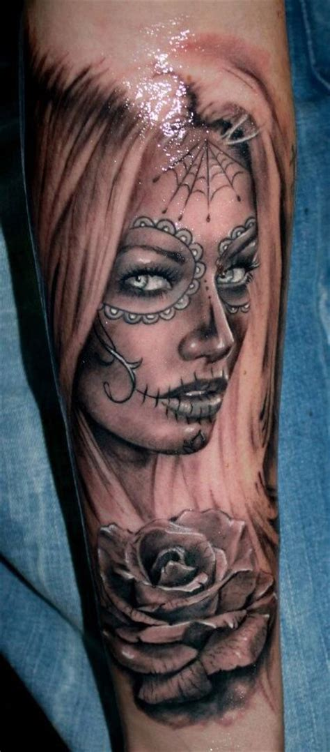 female joker tattoo meaning 101 day of the dead tattoos that are haunting and brilliant