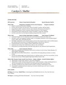 Resume Sle For Back Office Executive back office resume sle 28 images back office resume