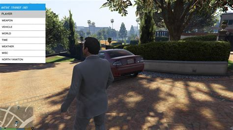 mod gta 5 pc native trainer native trainer re skinned and better controls now works