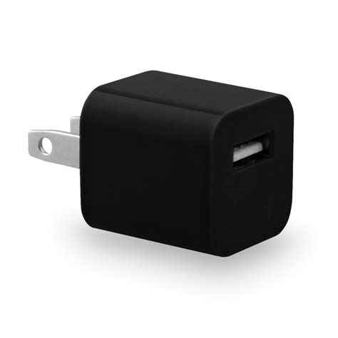 Usb Travel Charger eco usb travel charger cube universal black