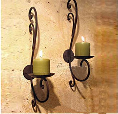 Ga087 3 Pcs Tealight Holder Emmelie Tempat Lilin 2pcs lot iron candle holder home decoration metal candle stand simple brand design wall candle
