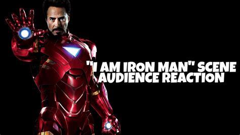 avengers endgame audience reaction iron man scene