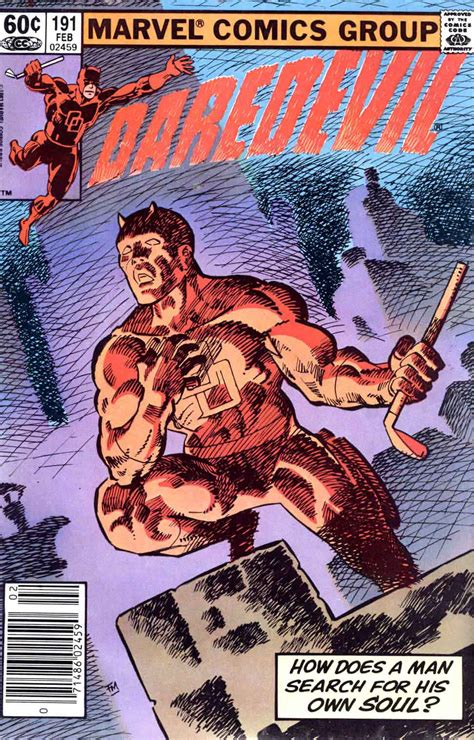daredevil by frank miller daredevil 191 frank miller art cover pencil ink