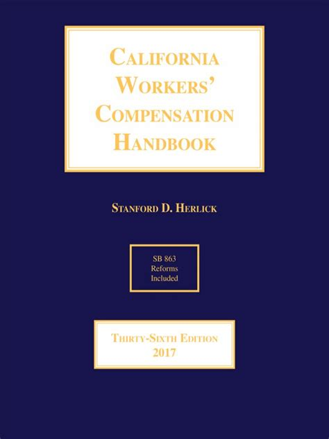Workers Compensation Search California Herlick California Workers Compensation Handbook