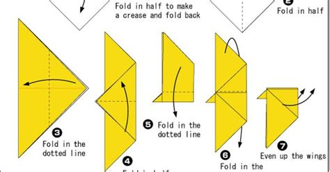 Origami Flapping Butterfly - easy origami flapping butterfly adorable origami