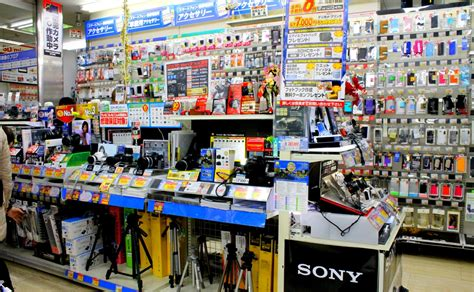 best electronic store edion one of the electronic shops in akihabara