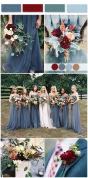 wedding color combos dusty blue wedding color combos inspired by 2017 pantone