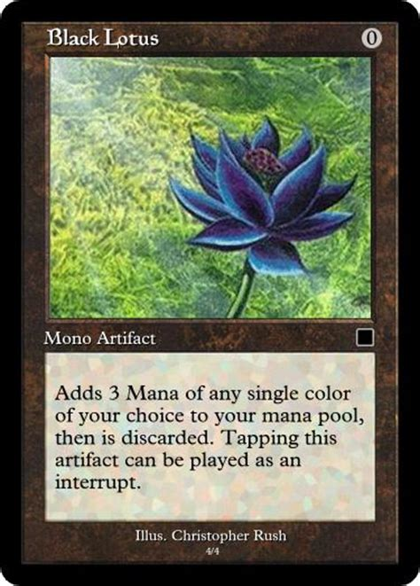 magic the gathering alpha black lotus black lotus magic cards
