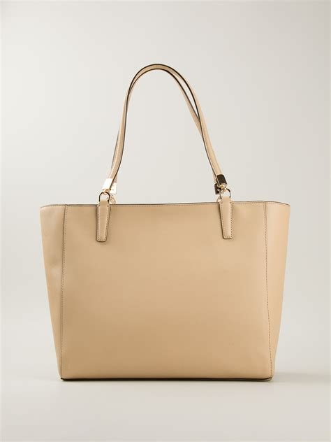 Marc Hardware Gold 2890 1 coach eastwest tote in lyst
