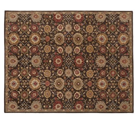 Pottery Barn Rugs Outlet Isaac Style Rug 10x14 Espresso Pottery Barn