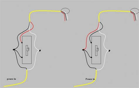 diagram on black white and copper wire to a switch 3 way