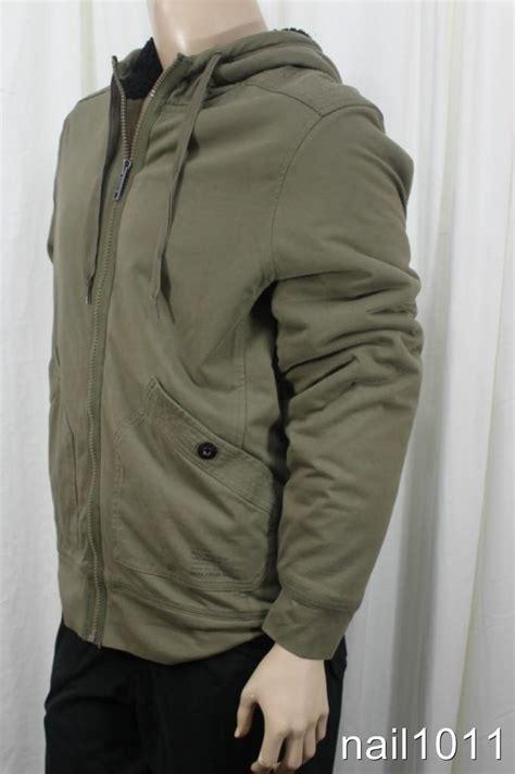 Hoodie Zipper Dkny new mens jackets dkny hoodie jacket l zipper fleece lined nwt heavy duty ebay