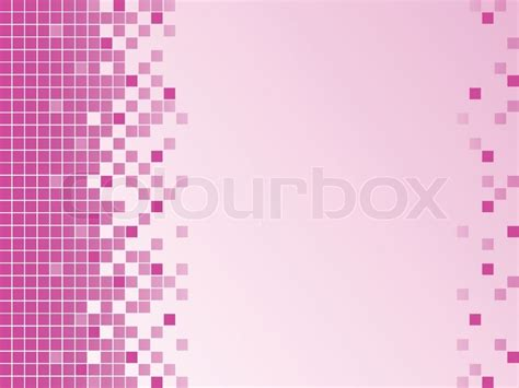 xml layout pixels pink background with pixels stock vector colourbox