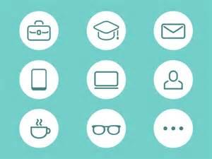 resume icon by hana dribbble
