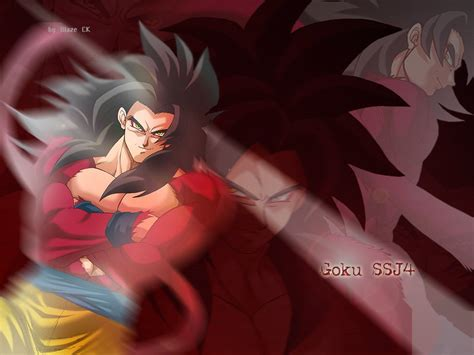 imagenes super satanicas goku super saiyan level 4 dragon ball z wallpaper