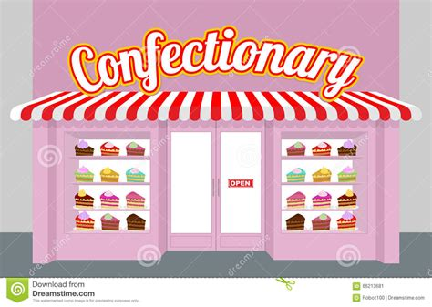 Pink By Z Shop confectionary storefront with cakes pieces of cake on a