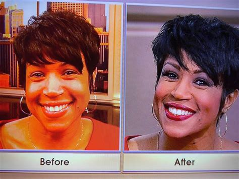 val warner with her natural hair windy city live val warners hair val warner quot windy