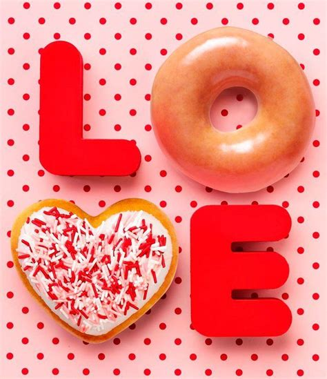 Happy Hearts From Krispy Kreme by 22 Best S Day Images On Donuts