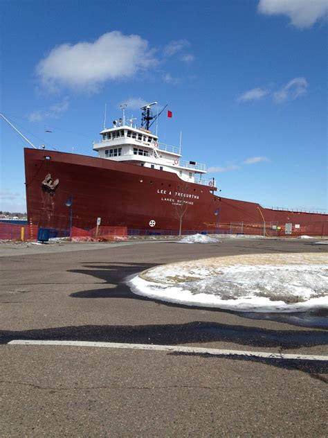 Largest Ship To Sink In The Great Lakes by A Tregurtha Three Football Fields The Largest