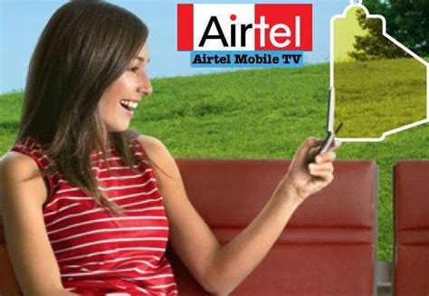 bharti mobile airtel mobile tv 50 channels on your mobile screen