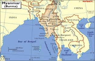 Burma World Map by Myanmar Map With Administrative Borders Pictures To Pin On