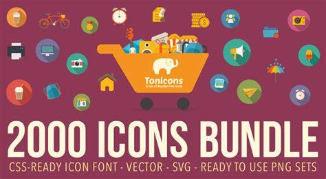 tonicons icon bundle  ton  royalty  flat icons