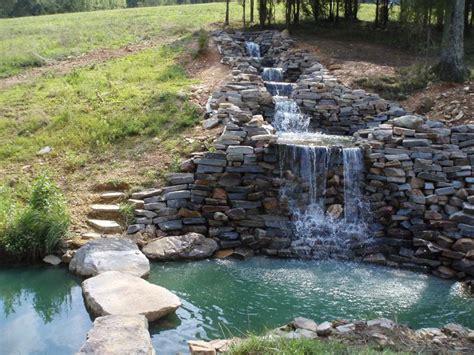 backyard waterfall 20 best garden and backyard waterfalls design ideas home