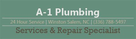 Plumbing Winston Salem by A 1 Plumbing Services Repair Specialist Winston Salem