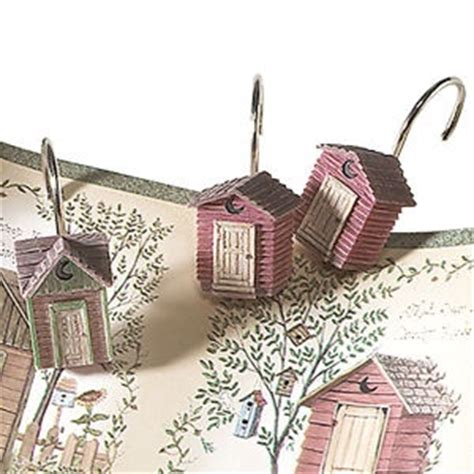 outhouse shower curtain hooks outhouse shower curtain hooks outhouses pinterest