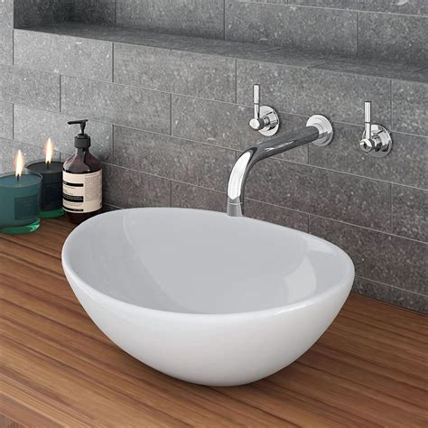 casca oval counter top basin available now at