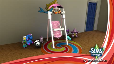 download swing the sims 3 store solace snugabunny deluxe baby swing
