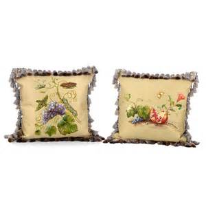Butterfly Home Decor Accessories by Butterfly Grapes Pillows Pillows Home Decor