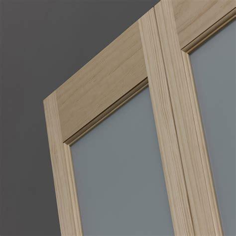 half glass bifold doors half frosted glass classic bifold doors