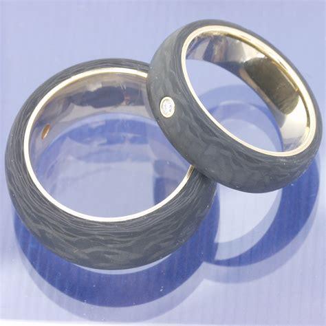 Eheringe Carbon Silber by Eheringe Shop Apricotgold Carbon Eheringe