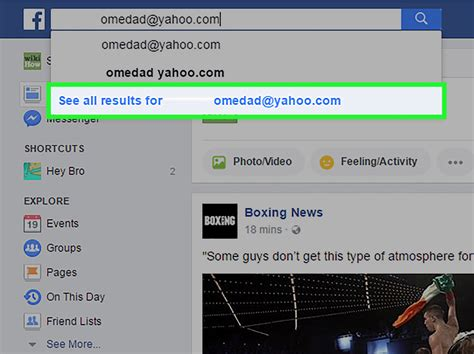 Fb Search By Email How To Use An Email Address To Find Someone On 8
