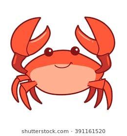 crab cartoon images, stock photos & vectors | shutterstock