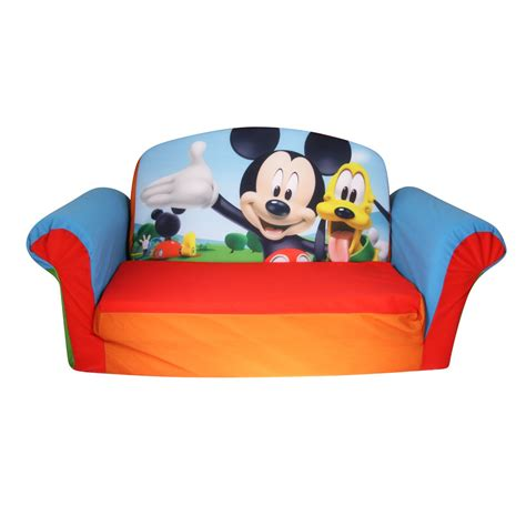 mickey mouse foam flip sofa sofa bed furniture for cool ideas for home