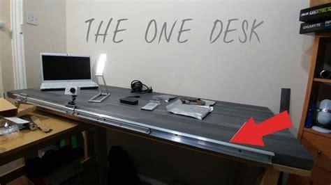 computer desks for geeks project desk a custom pc table build