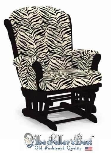 17 best images about glider rocker slip covers on 17 best images about zebra print decor on pinterest