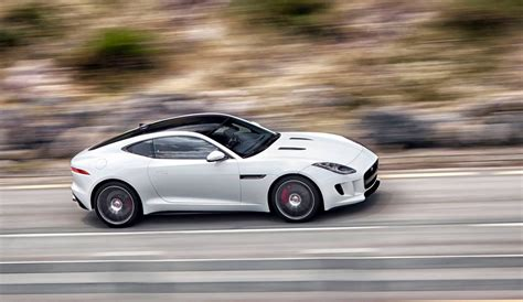 jaguar f type coupe white forcegt