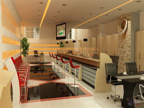 Banc Design Interieur by Bank Interior Design Portfolio Work Evermotion