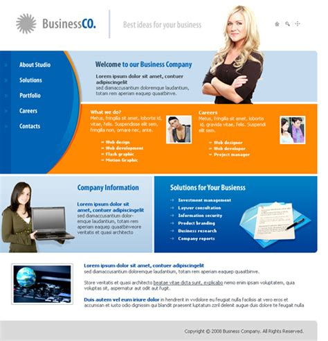 website templates for export business business reflect web template 3217 business website