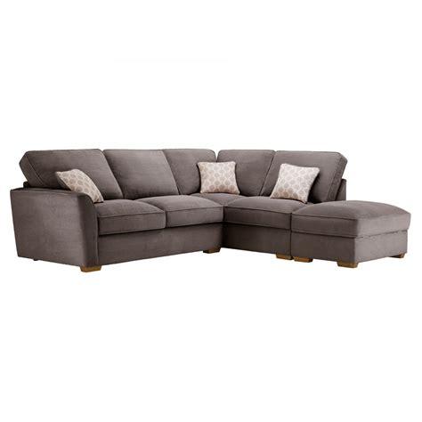 corner sofa with high back nebraska left corner sofa with high back in aero charcoal