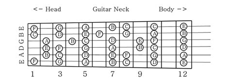 guitar scales master the fretboard create your own and get soloing 125 licks that show you how books notes of the guitar diagram
